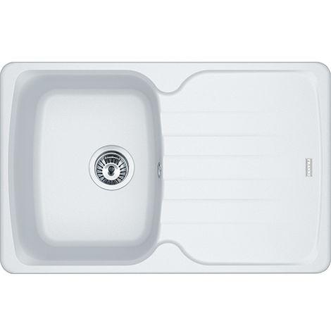 Franke Antea Azg61178 1b Reversible Inset Kitchen Sink White