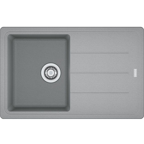 Franke Basis Bfg611780 1b1d Fragranite Inset Reversible Kitchen Sink Stone Grey