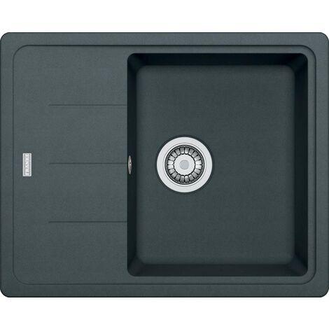 Franke Basis - Lavello in fragranite BFG 611-62, 620x500 mm, grafite 114.0285.095