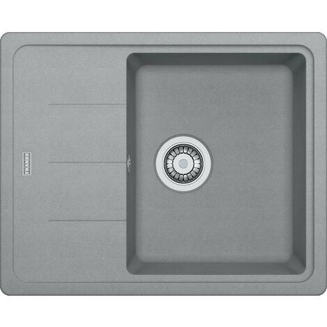 Franke Basis - Lavello in fragranite BFG 611-62, 620x500 mm, pietra grigia 114.0285.118