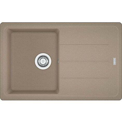 Franke Basis - Lavello in fragranite BFG 611-78, 780x500 mm, cashmere 114.0494.757