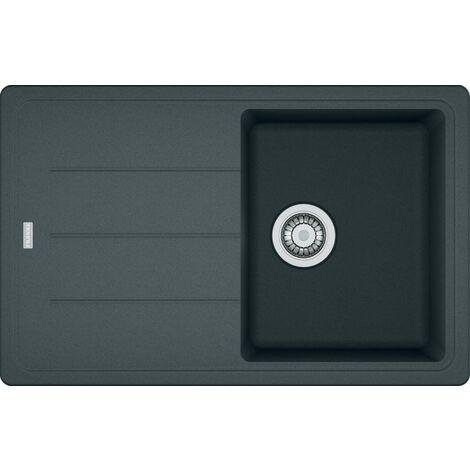 Franke Basis - Lavello in fragranite BFG 611-78, 780x500 mm, grafite 114.0285.165