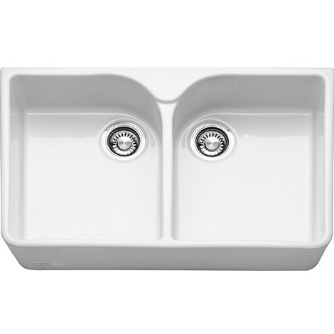 Franke Belfast Kitchen Sink Vbk 720 Ceramic White