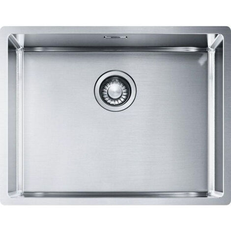 Franke BOX - Stainless steel sink BXX 210 / 110-54, 580 x 450 mm, siphon (127.0395.015)