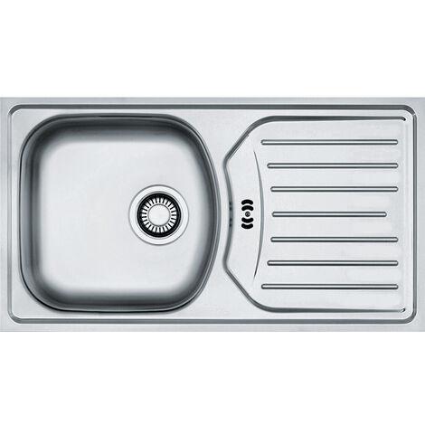 """Franke Eurostar - stainless steel sink ETHOS 3 1/2"""" , 780x435 mm + siphon (101.0286.132)"""