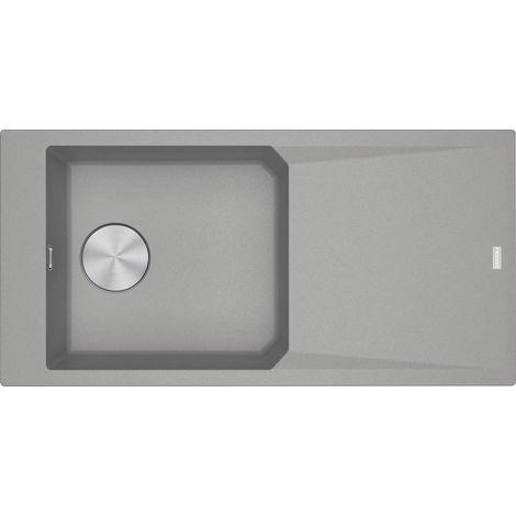 Franke FX - Lavello in fragranite FXG 611-100, 1000x500 mm, grigio pietra 114.0540.819