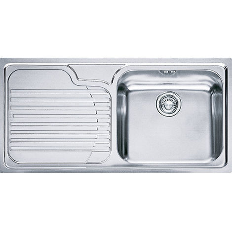 Franke Galassia Gax 611 1b Inset Lh Kitchen Sink Stainless Steel