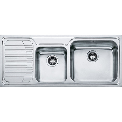 Franke Galassia Gax 621 2b Inset Lh Kitchen Sink Stainless Steel