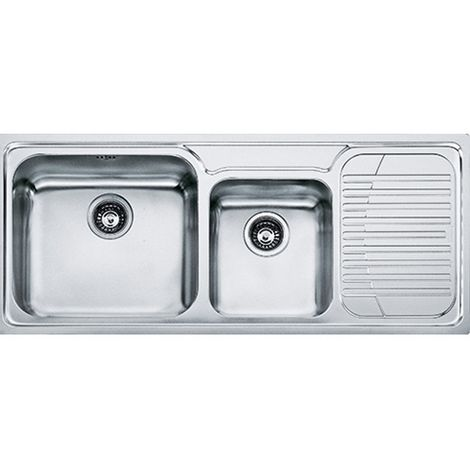 Franke Galassia Gax 621 2b Inset Rh Kitchen Sink Stainless Steel
