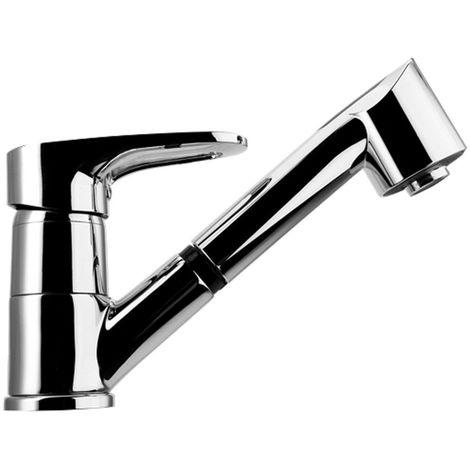 Franke hohdruck e di Nogat 40 pull-out rubinetto da cucina con doccetta  estraibile cromato Plus, 1 pezzi, 115.0352.267