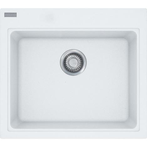 Franke Kubus - Fragranit + Artic Blanc Sink KSG 238, 585x520 mm (114.0285.229)