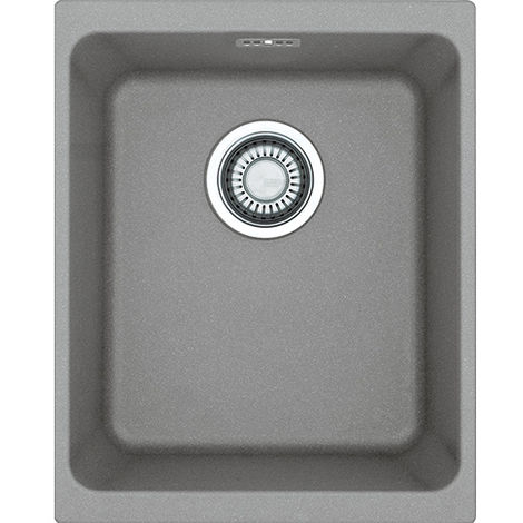 Franke Kubus Kbg 110 34 1b Undermount Kitchen Sink Stone Grey