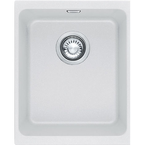 Franke Kubus Kbg 110 34 1b Undermount Kitchen Sink White