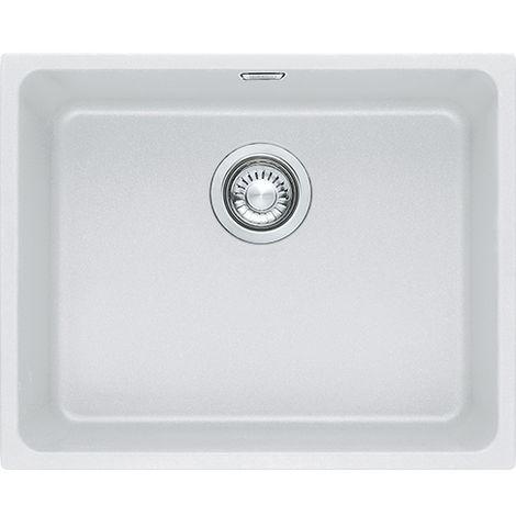 Franke Kubus Kbg 110 50 1b Undermount Kitchen Sink White
