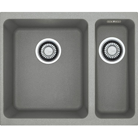 Franke Kubus Kbg 160 1.5b Undermount Rhsb Kitchen Sink Stone Grey