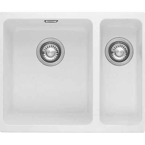 Franke Kubus Kbg 160 1.5b Undermount Rhsb Kitchen Sink White