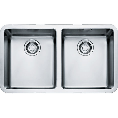 Franke Kubus Kbx 120 34-34 2b Undermount Kitchen Sink Stainless Steel
