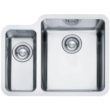 Franke Kubus Kbx 160 34 16 1.5b Undermount LHSB Stainless Steel Sink