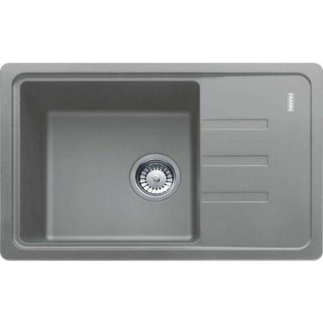 Franke Malta - Lavello in fragranite BSG 611-62, 620 x 435 mm, grigio pietra 114.0395.151