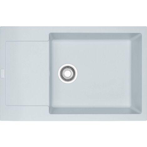 Franke Maris - Lavello in fragranite MRG 611-78 BB, 780x500 mm, bianco-ghiaccio 114.0363.186