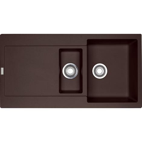 Franke Maris - MRG 651 Fragranit + Chocolat Evier, 970x500 mm (114.0250.551)