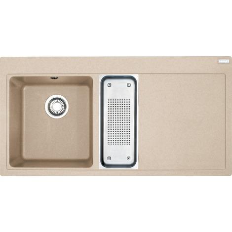 Franke Mythos - MTG 651-100/2 Fragranit+ Evier 1000x515 mm, gauche, beige sable (114.0150.019)