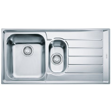 Franke Neptune Slim-top Nex Inset Kitchen Sink Nex 251 Rh Stainless Steel