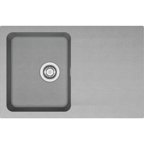 Franke Orion - OID 611-78 évier de cuisine à encastrer Tectonite® Gris