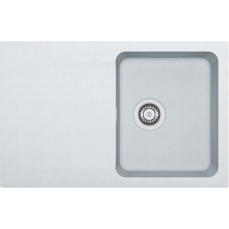 Franke Orion - OID 611-78 Tectonite® White Artic Sink, 780mmx500mm (114.0288.585)