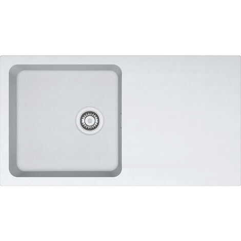 Franke Orion - OID 611 Tectonite® Blanc Artic 940x510 mm (114.0288.541)