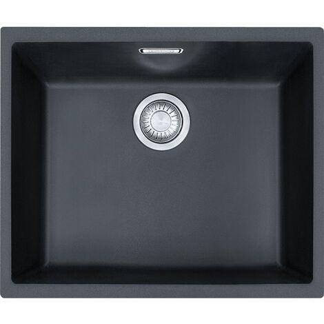 "main image of ""Franke Sirius - SID 110-50 Tectonite® Carbon Undermount sink (125.0363.789)"""