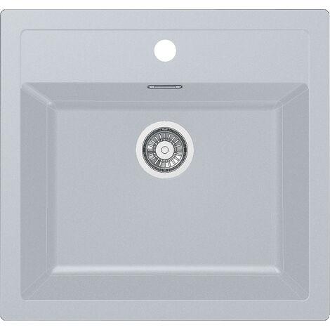 Franke Sirius - SID 610/560 Tectonite® Blanc Artic Evier (114.0284.165)
