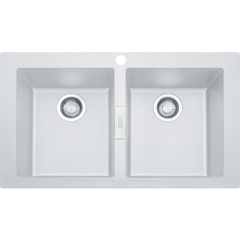 Franke Sirius - SID 620 Tectonite® White Artic Sink (114.0284.167)