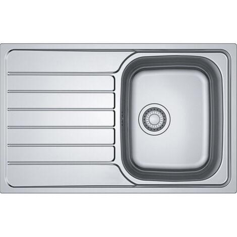 "main image of ""Franke Spark SKN 611-79 Kitchen sink 79x50cm with reversible drainer, Stainless steel (SKN611-79)"""