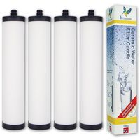 Franke Triflow FRX02/FR9455 Genuine Doulton Supercarb M15 Mount Water Filter (4 pack)