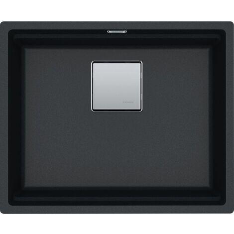 """main image of """"Franke Undermount sink Kubus 2 KNG 110-52 Fragranit+ Onyx (125.0512.504)"""""""