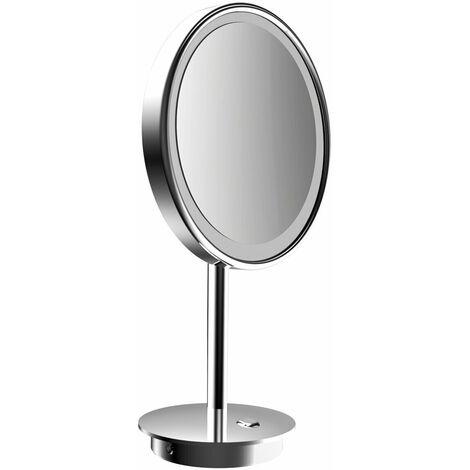frasco LED Floor Mirror 3-fold, round, D: 200 mm, plug, chrome 832171100 - 832171100