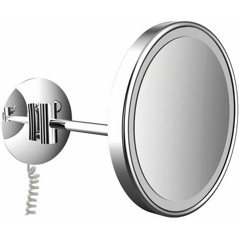 frasco LED wall mirror 1-arm, triple, round, D: 200 mm, plug, chrome 830111100 - 830111100
