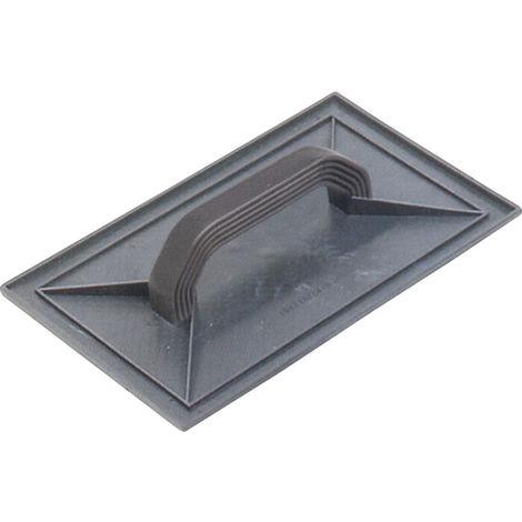 Frattazzo frattone plastica 14x44 colore grigio