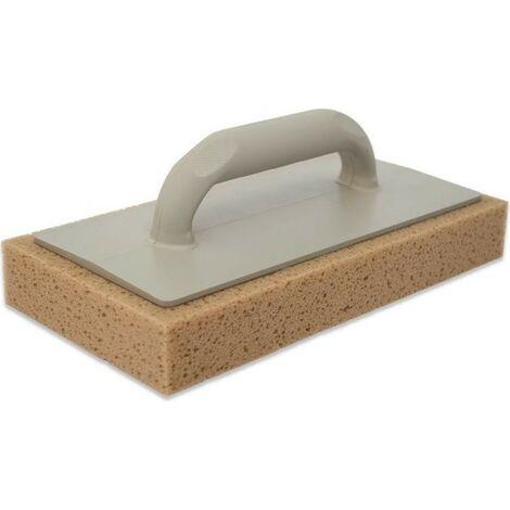 Frattazzo per pulizia in gomma spugna 29x14x4 h cm Tabacco