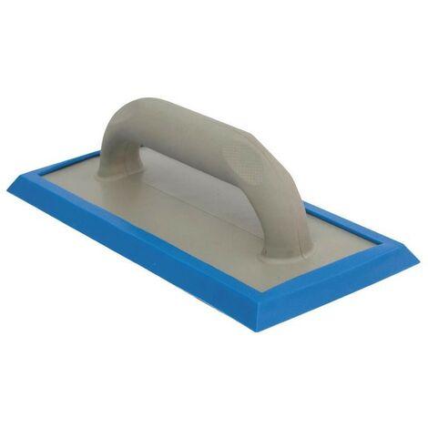Frattazzo per stuccare in gomma 25x11 cm Blu