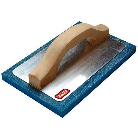 Frattazzo spugna Valex base alluminio 300x100mm muratore imbianchino pavimenti carpentiere