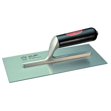 """main image of """"Frattone Americano liscio in acciaio, super leggero 12x28cm 'Pavan'"""""""