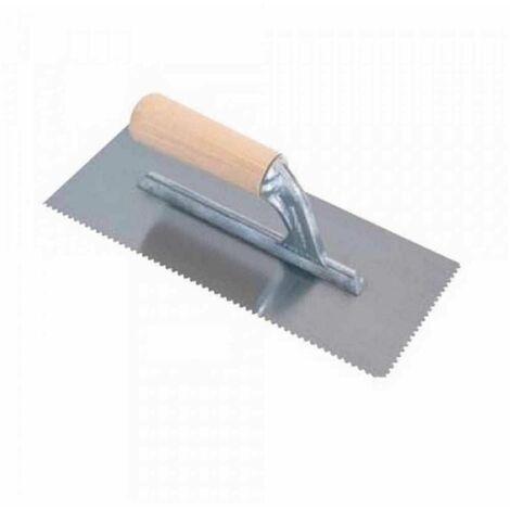 Frattone americano manico legno dente V3mm 28x12 cm 183V3 Raimondi