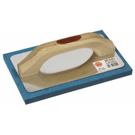 Frattone frattazzo in gomma spugna pavan art 819/1 21,5x13,5 supporto alluminio