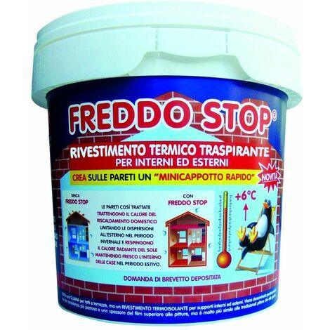 FREDDO STOP Tecnostuk - 1/2,5/5 LT - GUAINA ISOLANTE Traspirante interni e esterni