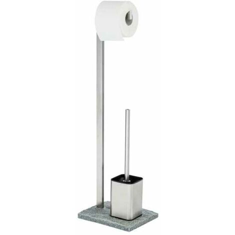 Free-standing toilet brush Granite WENKO