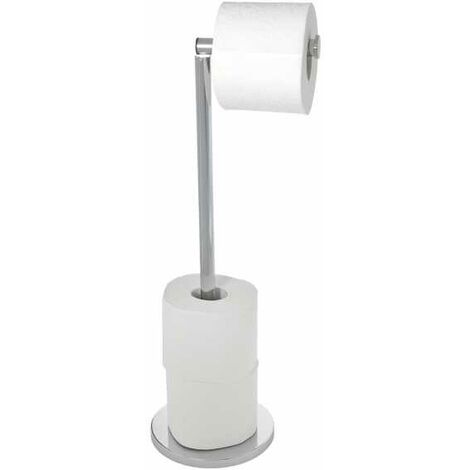 Free-standing toilet roll holder 2 in 1 WENKO