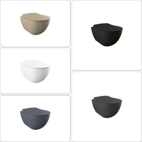 FREE Wand WC spülrandlos verschiedene Ausführungen