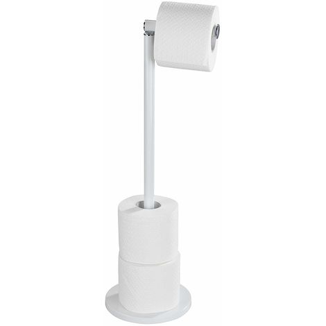 Wenko White Toilet Roll Holder and Store